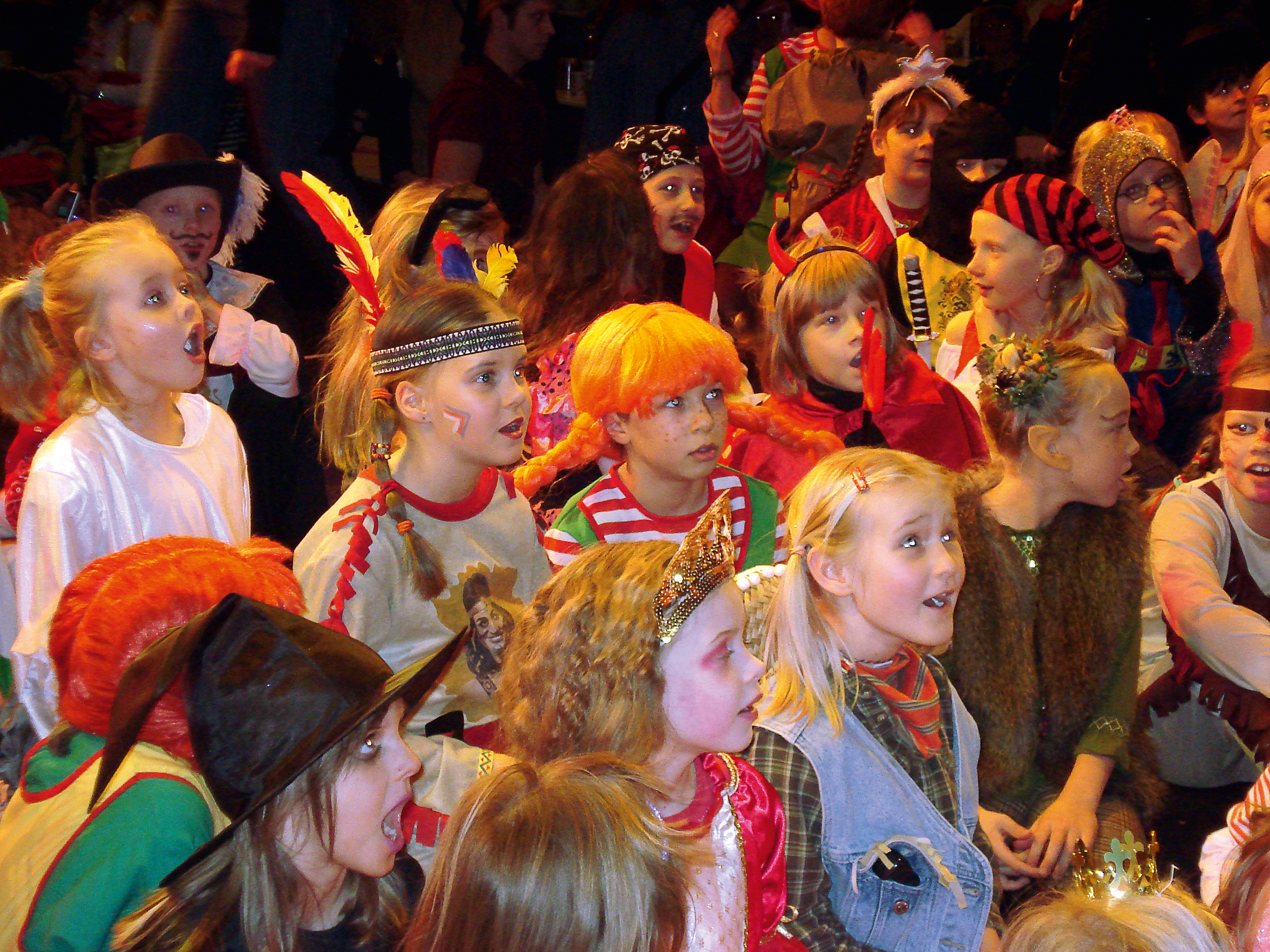 Kinderkarneval der GRO-RE-KA